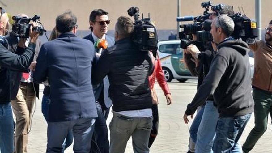 Soria presta declaración por la querella de Rossell