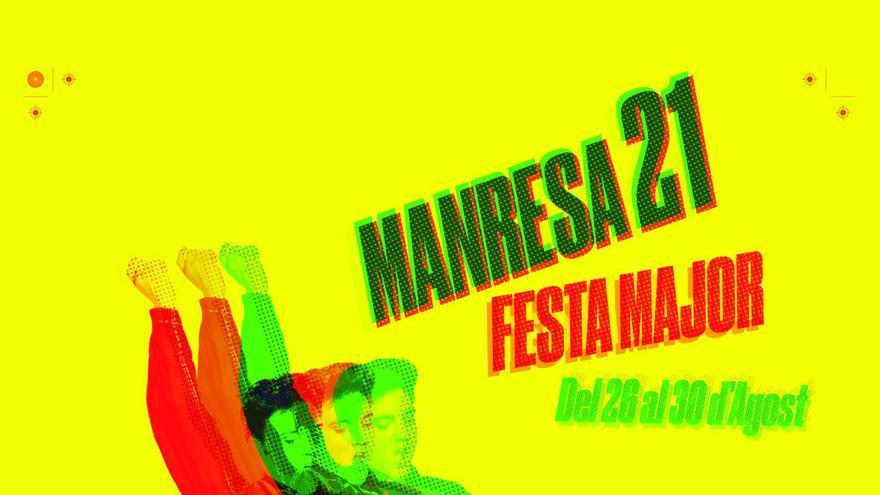 Manresa ja té el cartell de la festa major 2021: amb l'Elvis Presley i d'estil retro
