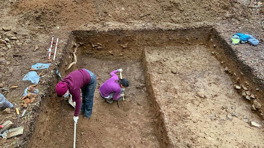 El yacimiento de San Paio guarda restos de tres épocas distintas