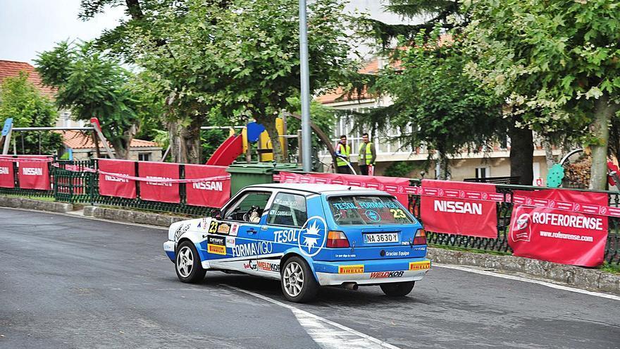 El Rally de la Ribeira Sacra, casi en marcha