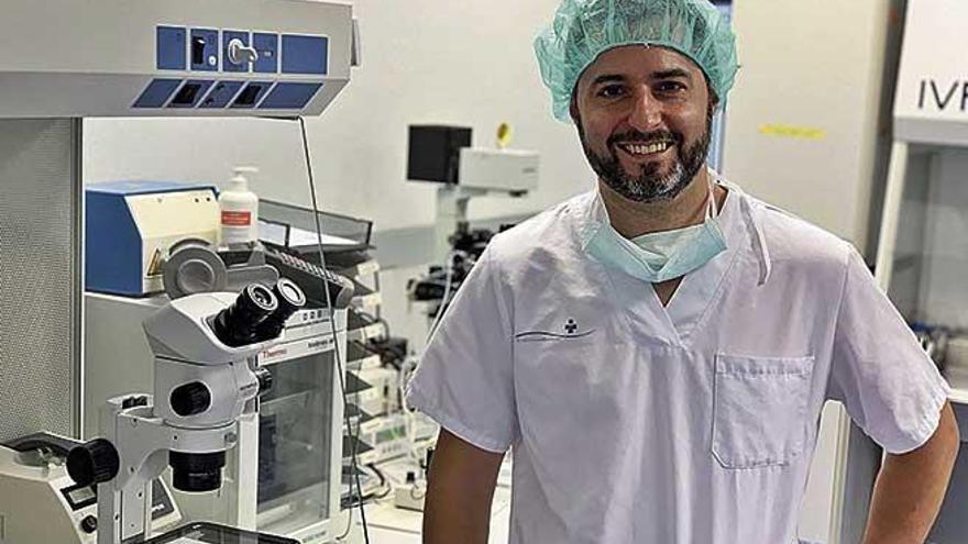 """Felipe Gallego: """"Hay un consenso entre las clínicas de fertilidad para no transferir embriones a mayores de 50 años"""""""