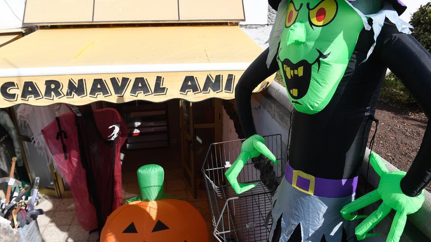 Halloween en las tiendas