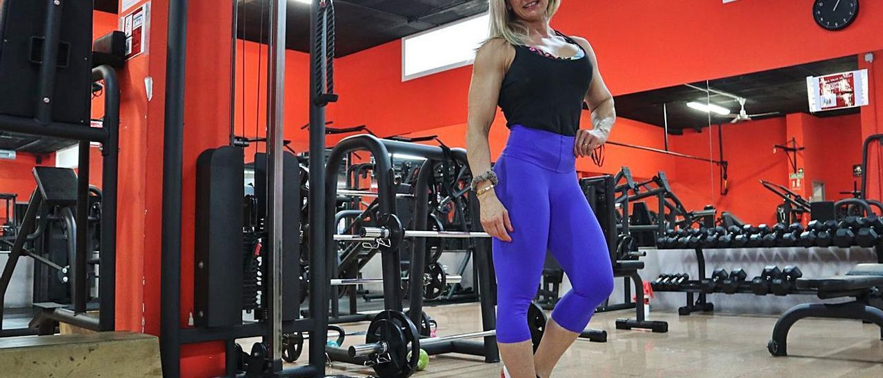 Rosa Mas, responsable del gimnasio Elite Manacor, ayer. | SEBASTIÀ SANSÓ