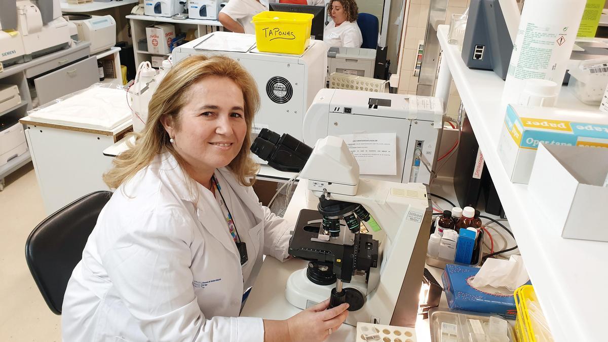 Cristina Regojo, presidenta de la Asociación Española contra la Meningitis.