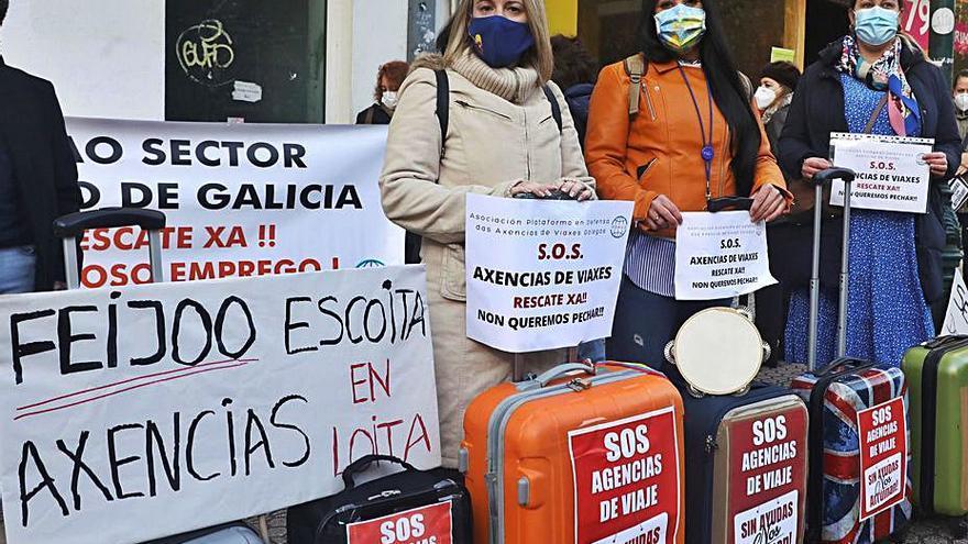 Las agencias de viaje demandan a Feijóo ayudas directas para poder sobrevivir