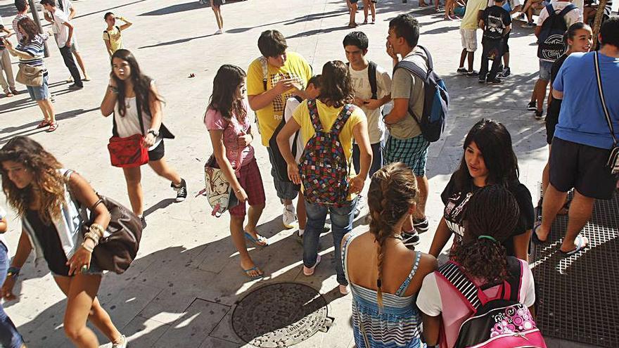 Los jóvenes de Baleares  se identifican más con  los valores de la derecha