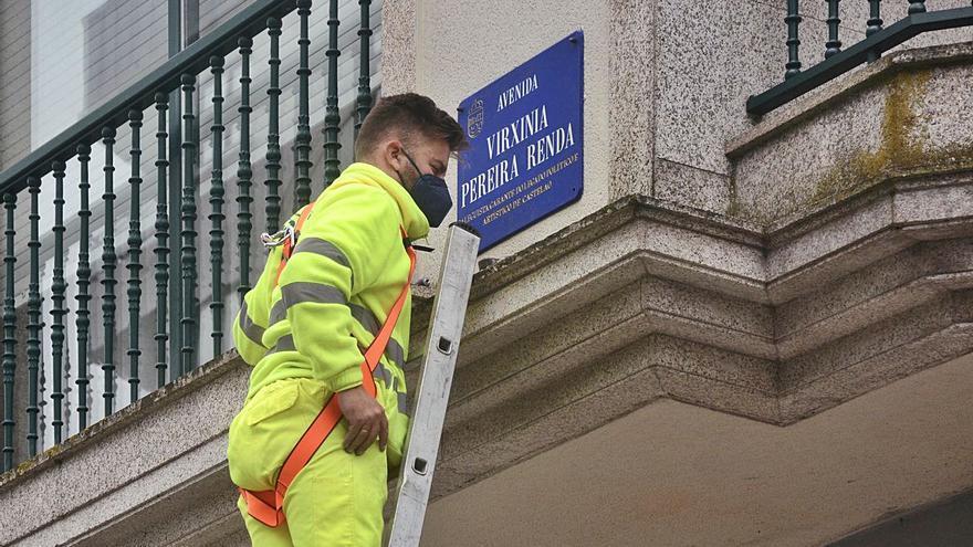 Renuncia a recurrir el cambio de nombre de la calle Juan Carlos I