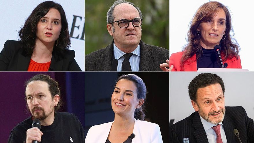 El 1x1 del debate de candidatos a las elecciones en Madrid