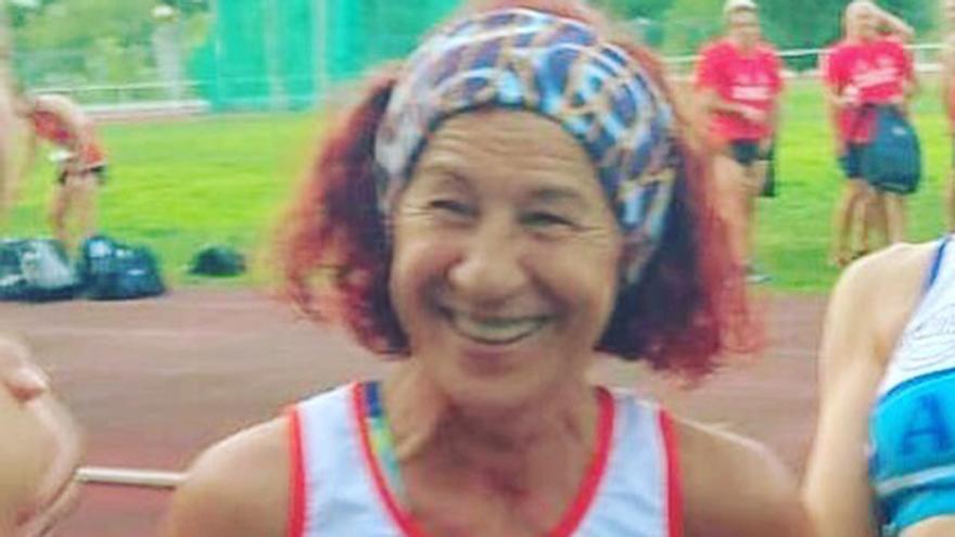 Fallece Pilar Marquiz, popular atleta veterana del CAS Sada