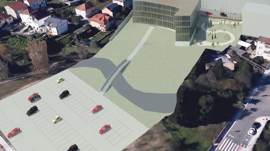El Sergas licita la redacción del proyecto del centro de salud de Moaña