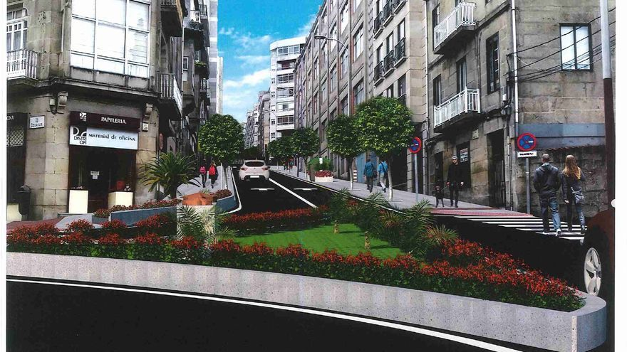 Desaparece uno de los giros más habituales de la calle Ecuador de Vigo