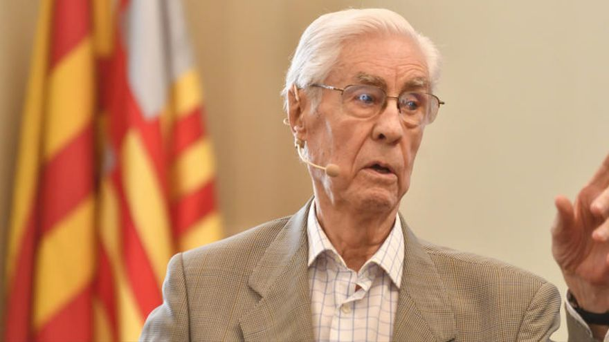 Dol a Igualada per la mort de l'actor Miquel Solà i Ferrés