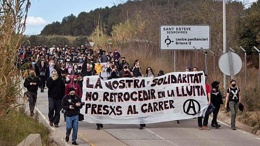 Exigeixen la llibertat dels anarquistes
