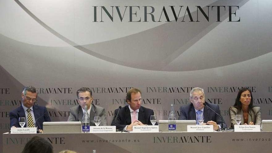 Los hijos de Manuel Jove comparten la presidencia del grupo Inveravante