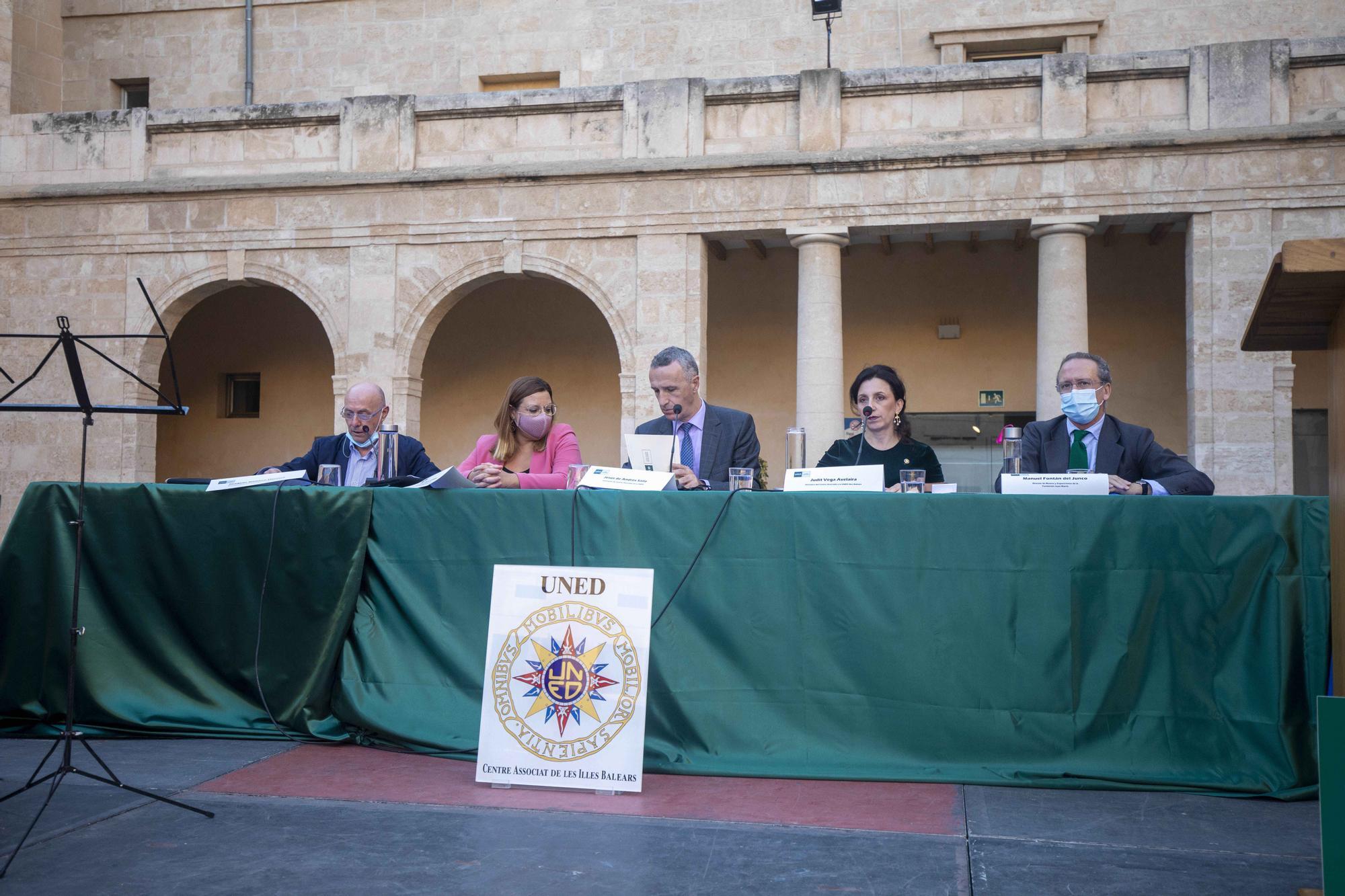 La Uned de Mallorca inaugura el curso académico 2021-2022 en la Misericòrdia