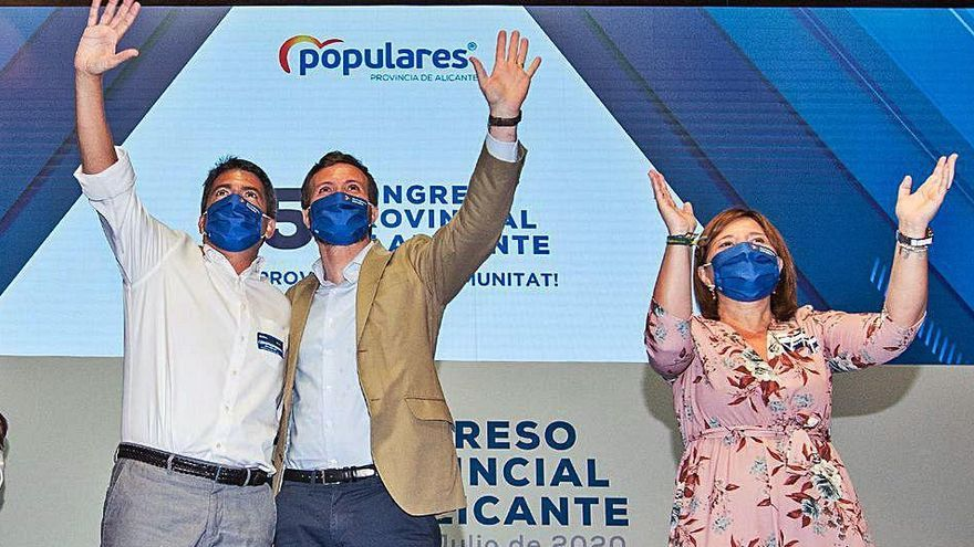 El PP se abre al liderazgo de Mazón en Alicante con el reto de unificar el centroderecha