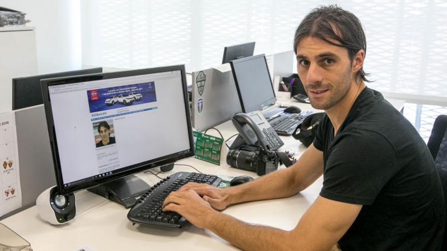 Sergio Pelegrín está en la recámara para entrenar al Murcia