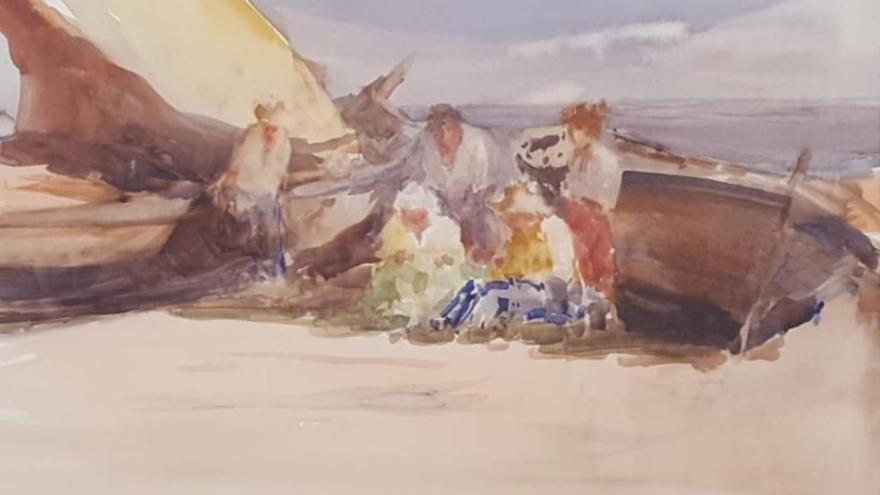 El Ayuntamiento de Dénia adquiere dos acuarelas del artista Costa Tur