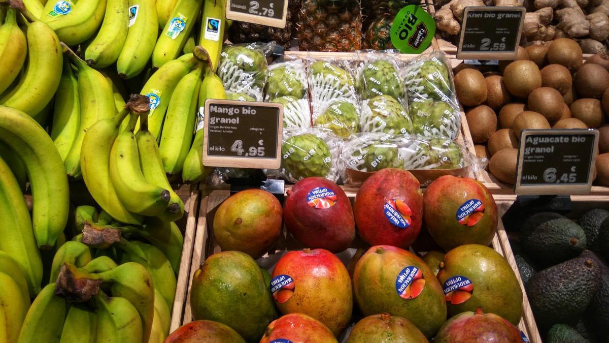 España, más cultivos ecológicos pero menos consumo