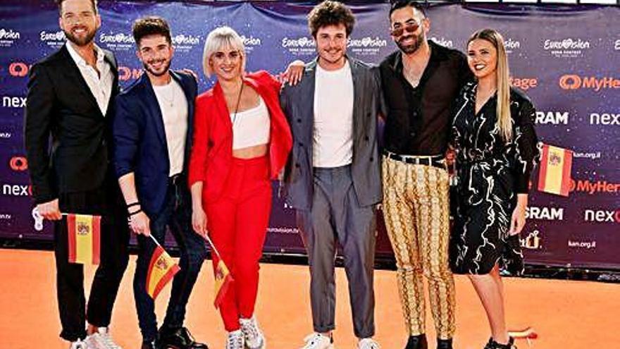 La 2 emite hoy la primera semifinal de Eurovisión, con 17 países en la terna
