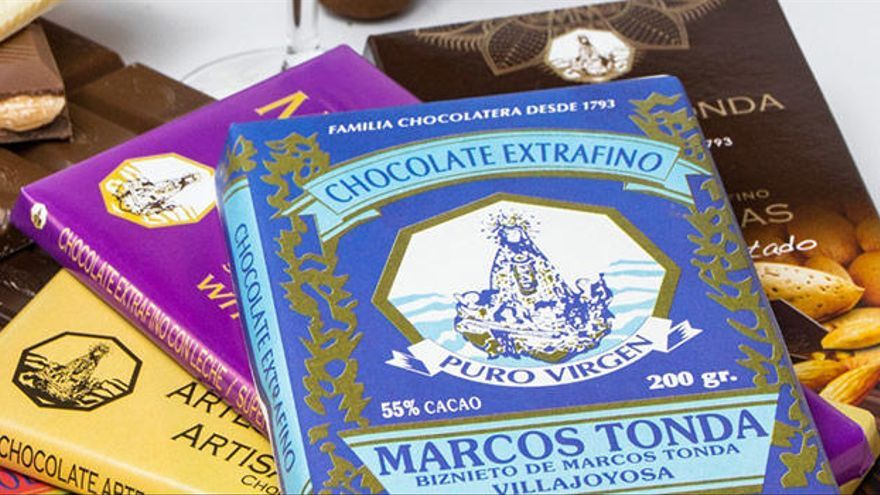 ¿Has probado ya la amplia gama de Chocolates Marcos Tonda?