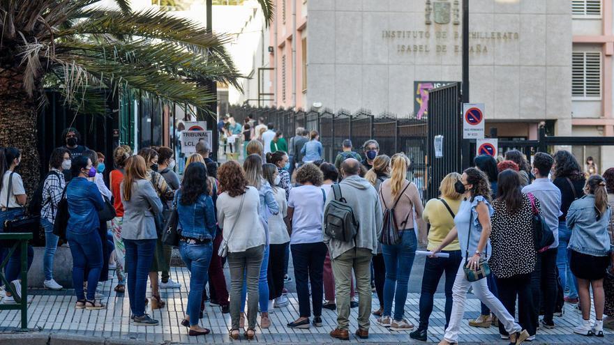 Jornada del domingo de las oposiciones de Educación