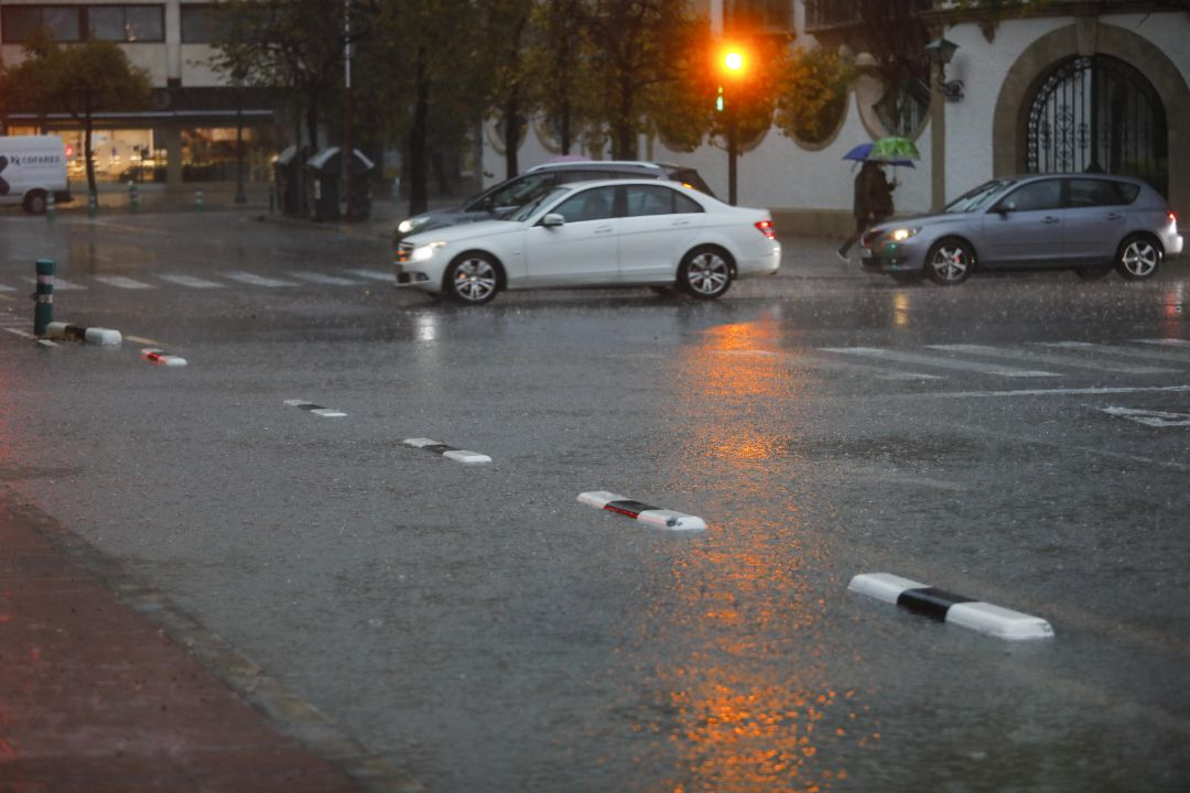 La ciudad de València, con muchas zonas inundadas