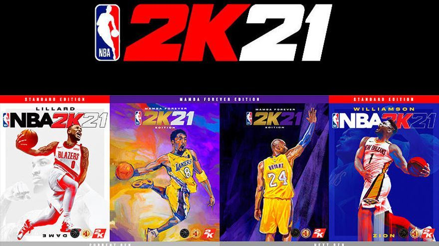 No te pierdas las portadas de NBA 2K21: hay para todos los gustos