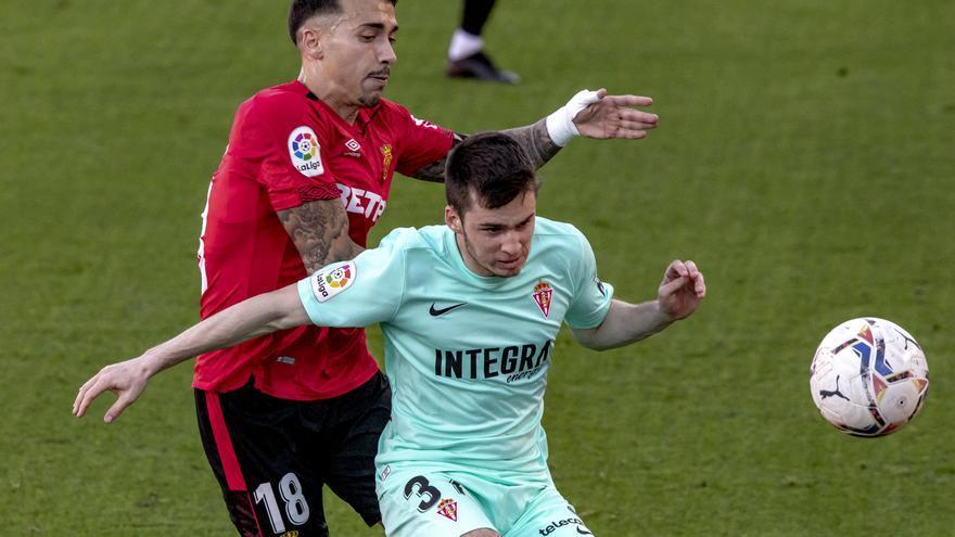 El Mallorca da por bueno el empate frente al Sporting