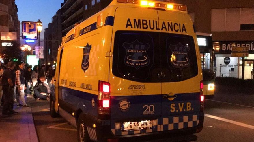 Herida tras ser atropellada por un Vitrasa en Vigo
