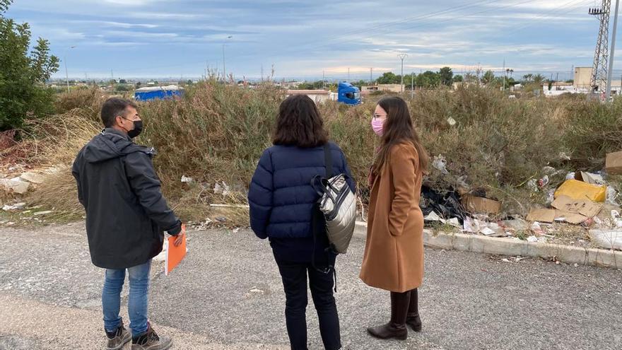 Limpieza de choque en el polígono del Boch y El Pinar