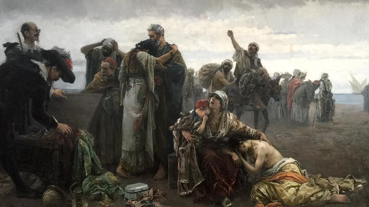 'La expulsión de los moriscos'