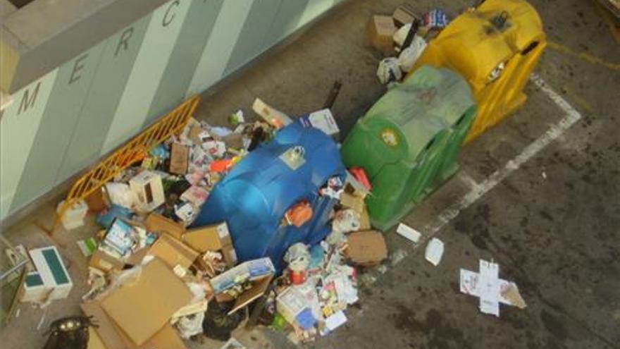 Retoman la campaña para incitar a los colectivos festivos a reciclar