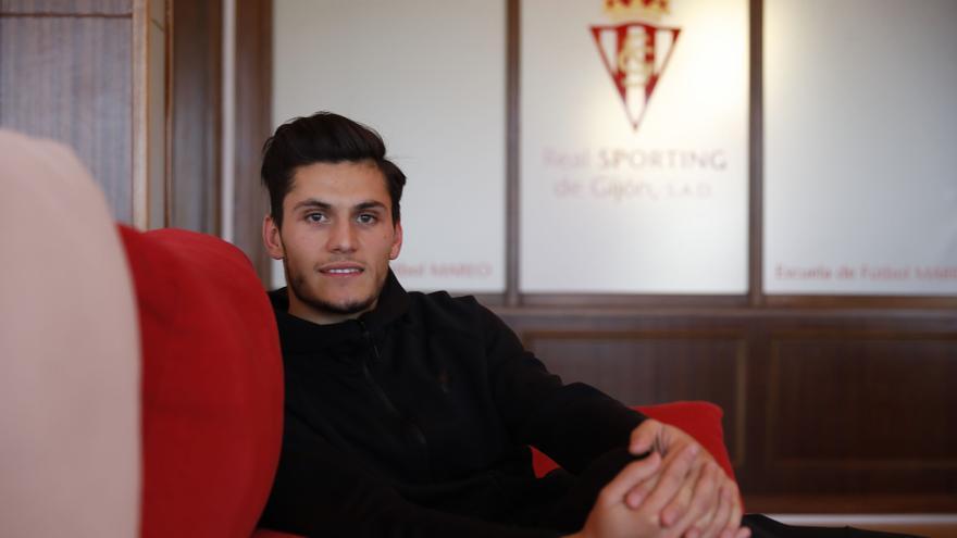 """Habla Cristian Salvador tras salir del Sporting: """"La oferta para seguir llegó tarde, hubiera estado muchos años más en Gijón"""""""