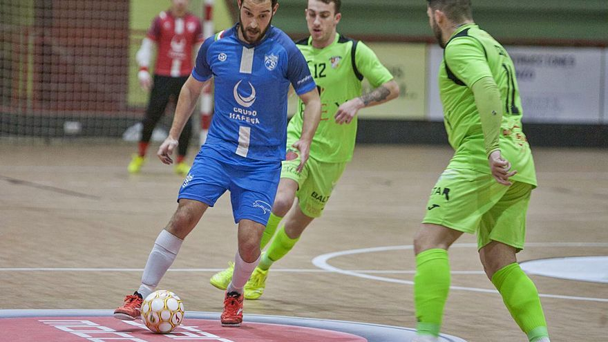 El A Estrada Futsal apela a la heroica