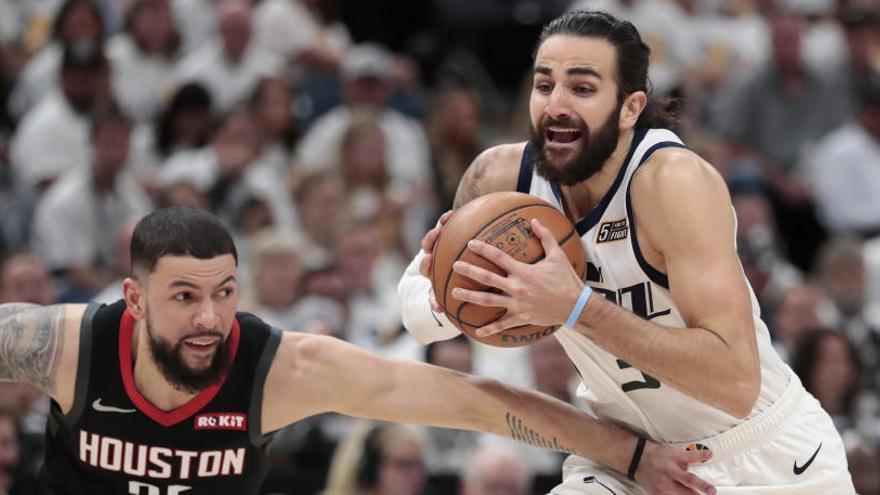 Los Jazz de Rubio aumentan su ventaja ante los Rockets