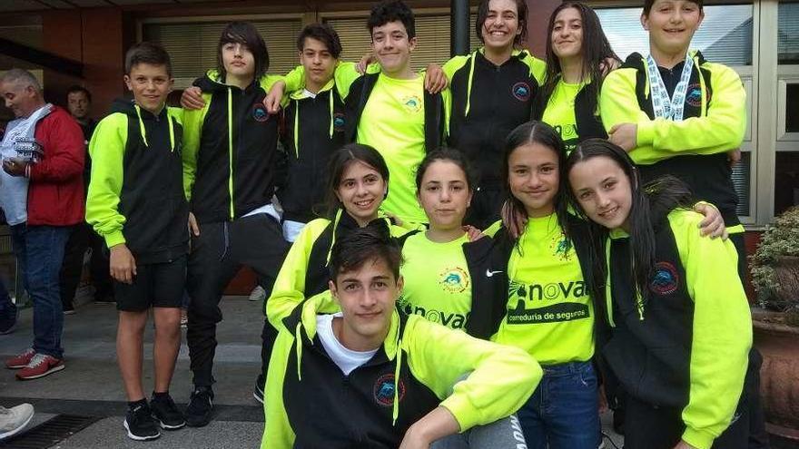 El Vilagarcía deja el pabellón bien alto en Lugo