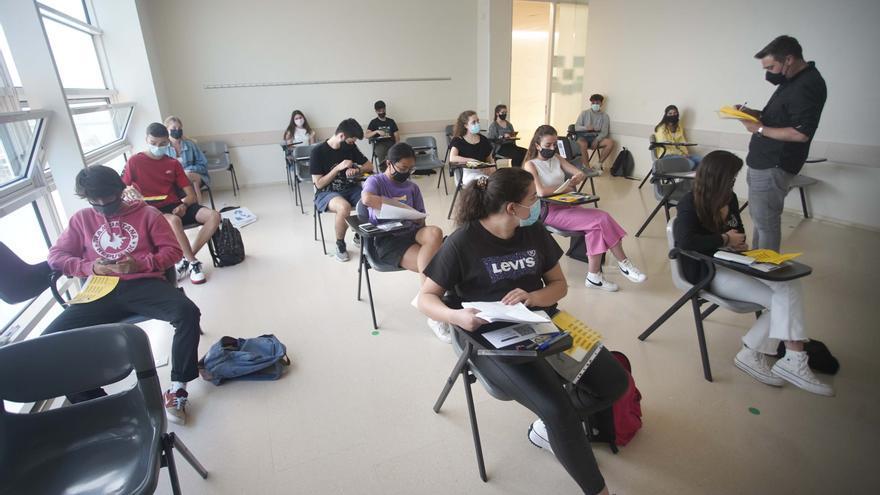 Les Proves d'Accés a la Universitat, a Girona