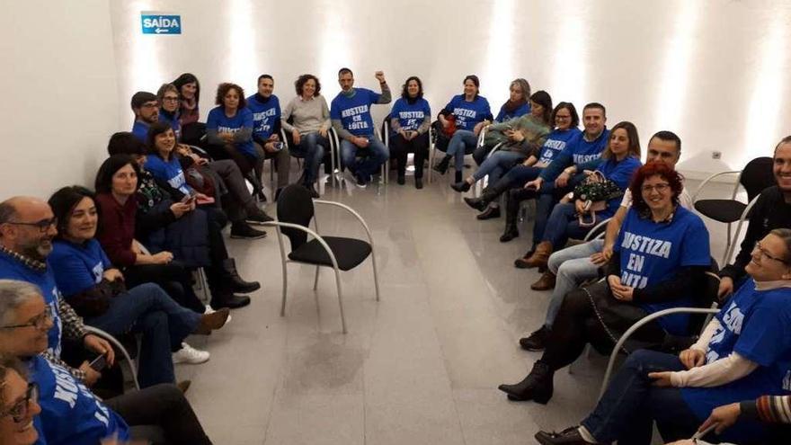La Xunta elevó su oferta más de un 70% desde el inicio de la huelga en Xustiza