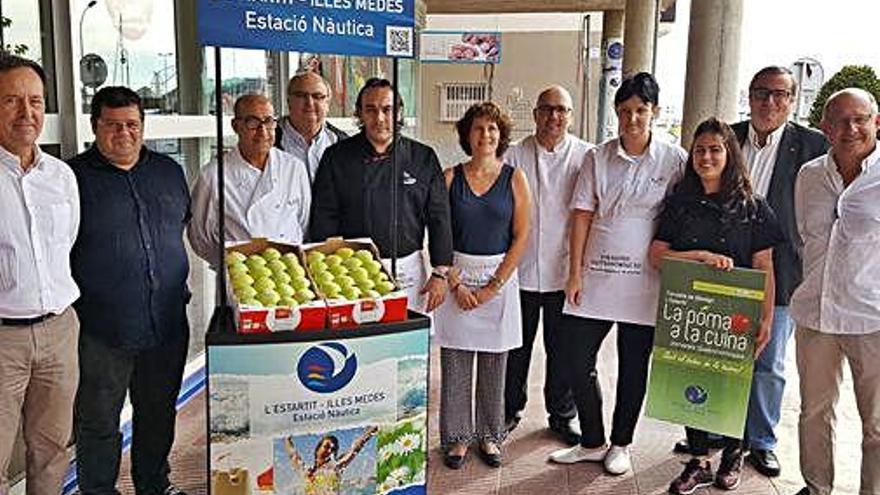 Arrenquen les jornades gastronòmiques «La poma a la cuina», a Torroella