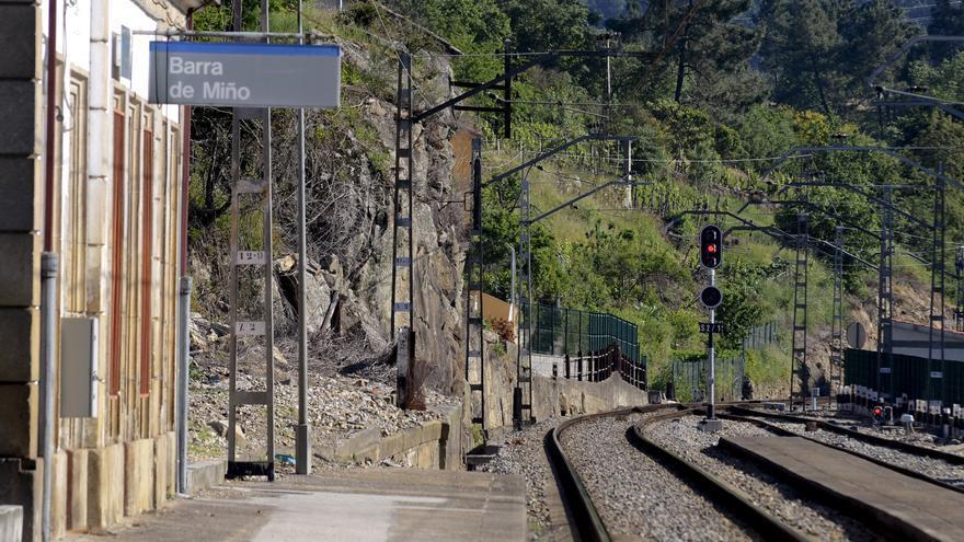 Cortada la vía del tren en Ourense tras un arrollamiento a una mujer