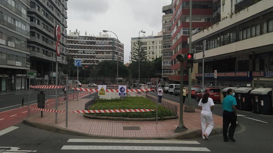 El Ayuntamiento inicia la creación del intercambiador de guaguas en la calle Concepción Arenal