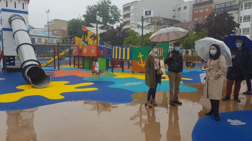 Moaña inaugura su nuevo parque de la Alameda