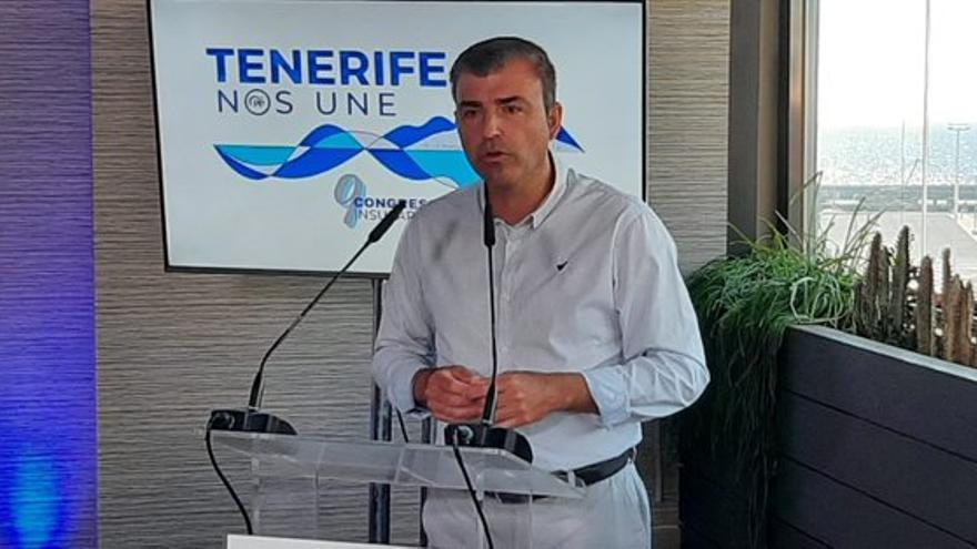 Manuel Domínguez, reelegido presidente insular del PP de Tenerife
