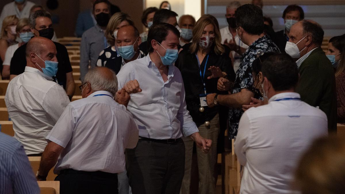 Mañueco, en el congreso del PP