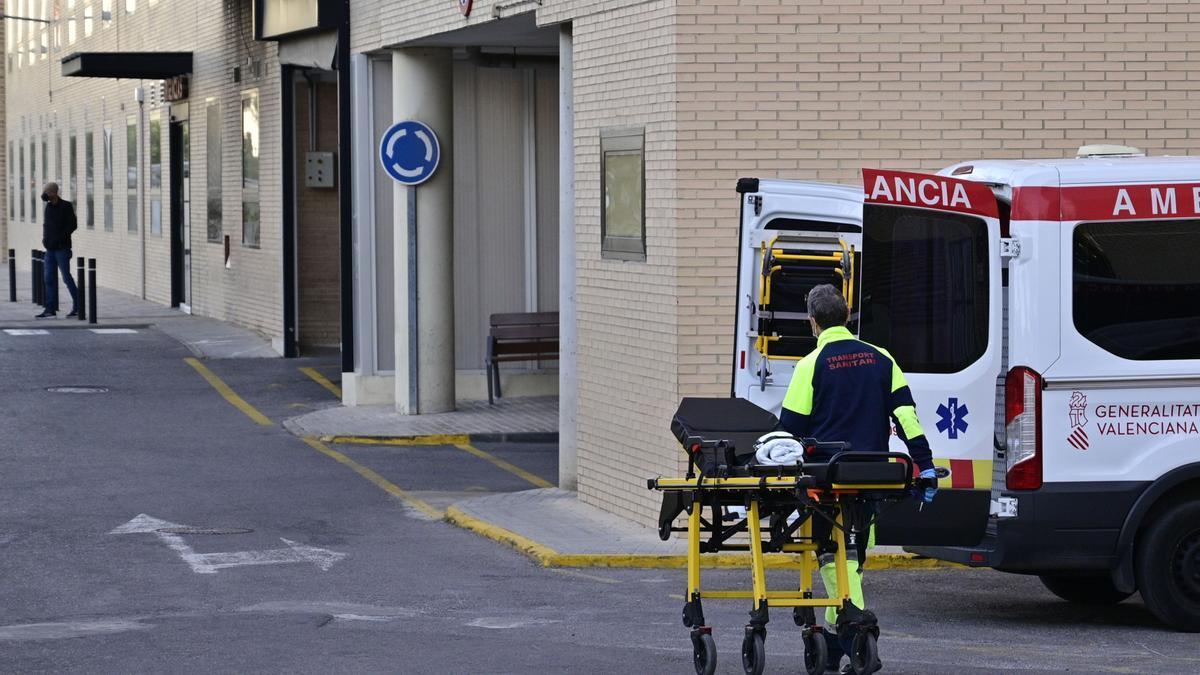 La herida fue trasladada al Hospital General de Elche