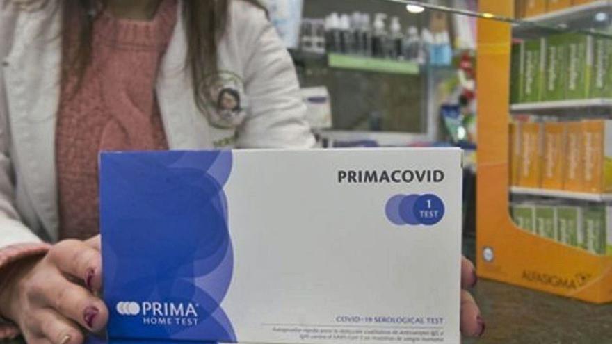 Las farmacias de las Islas venden 14.600 test de antígenos en una semana
