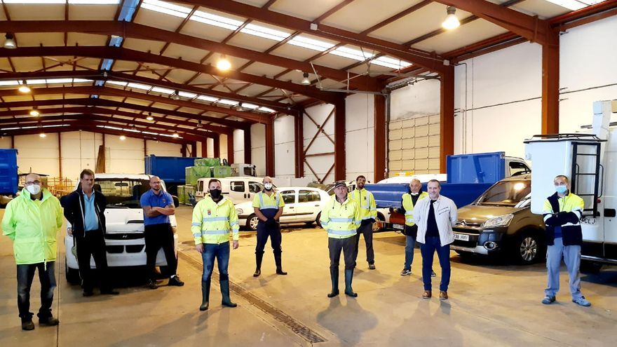 Arrecife destina 261.000 para adquirir ocho vehículos eléctricos
