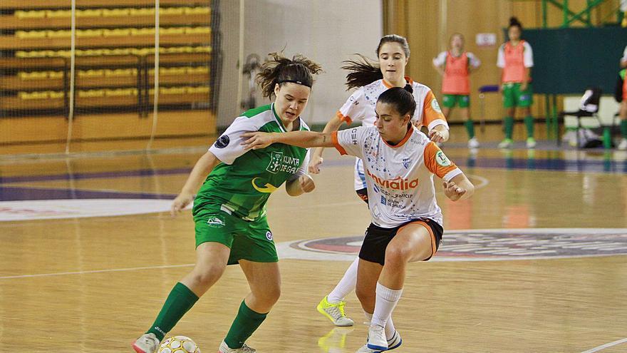 Ourense acoge una doble sesión de fútbol sala