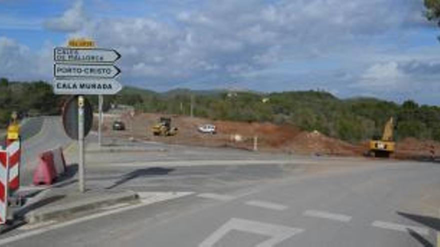 Bauarbeiten: Landstraße Felanitx-Portocolom gesperrt